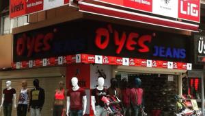 O'Yes Jeans Çakmak Caddesinde Yeni Şubesi ile Hizmetinizde