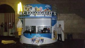 Mersin forum AVM içi McDonald's kios