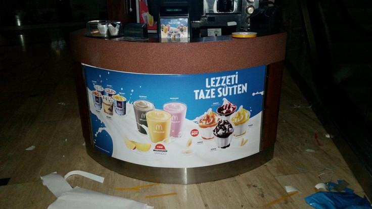 TARSUS McDonald's kios folyo uygulama