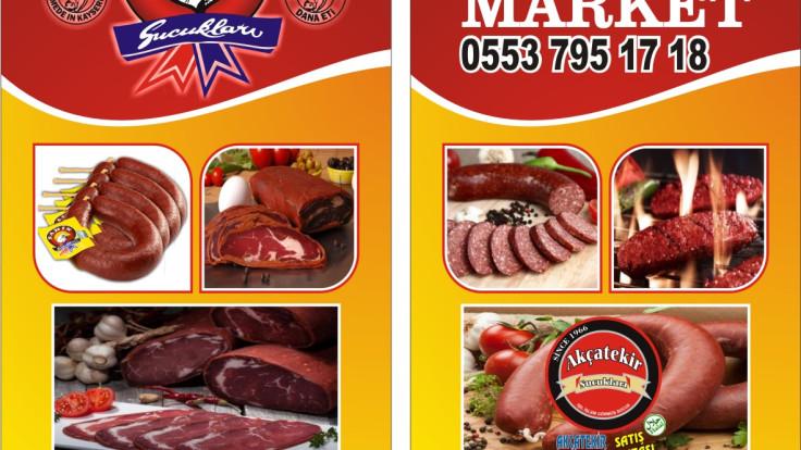 ŞAHİN SUCUKLARI            Tunç market