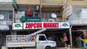 Karaisalı Zopcuk Market www.arazreklam.com.