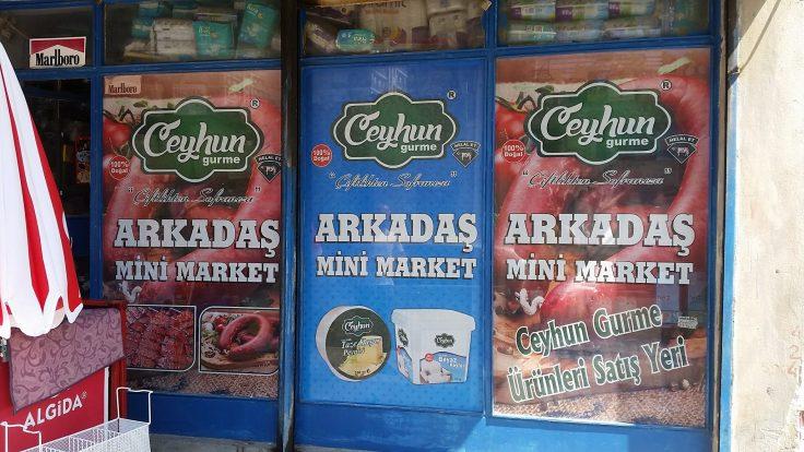 Arkadaş Mini Market www.arazreklam.com