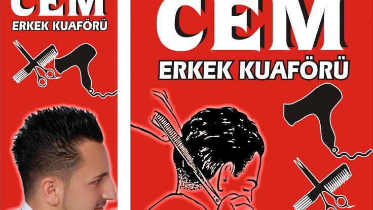 Cem Erkek Kuaförü  www.arazreklam.com