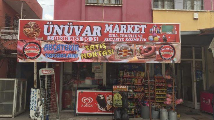 Ünüvar Market Yüreğir Kozan yolu Caddesi